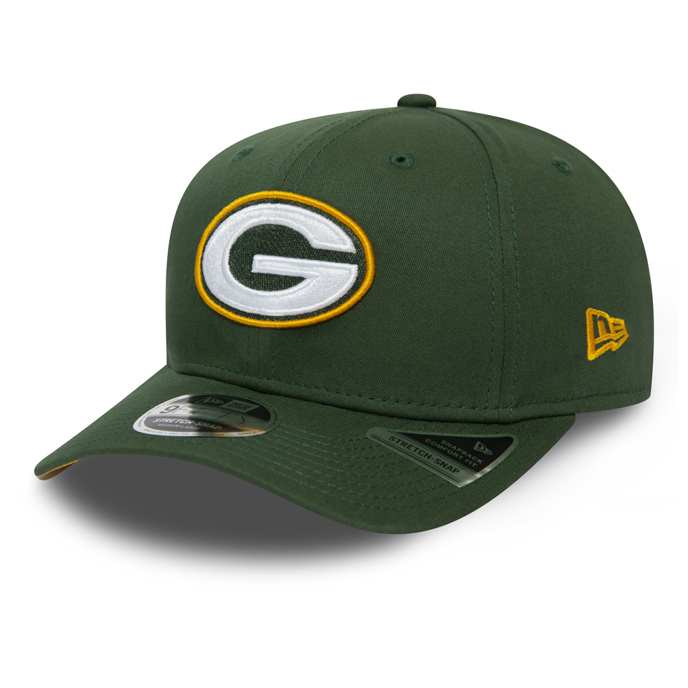 Green Bay Packers Green Team Stretch Snap 9FIFTY Cap