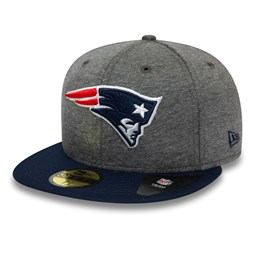 New England Patriots Jersey Essential Grey 59FIFTY Cap
