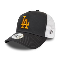 Los Angeles Dodgers Grey A-Frame Trucker