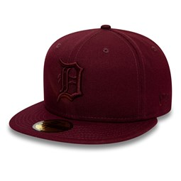 Detroit Tigers Essential Maroon 59FIFTY Cap