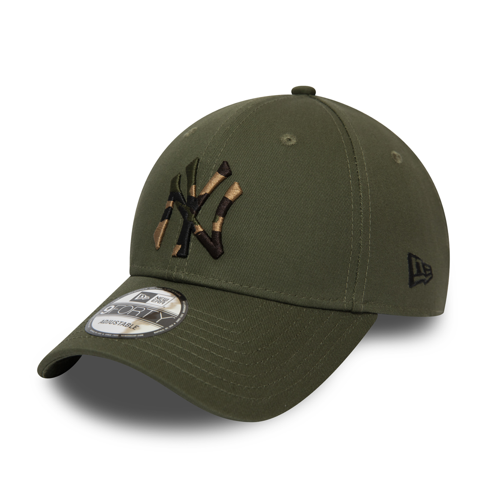 New York Yankees Camo Infill Green 9FORTY Cap