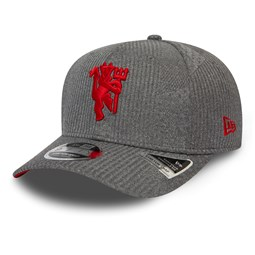Manchester United Jersey Grey Stretch Snap 9FIFTY Cap