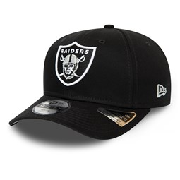 Oakland Raiders Kids Black Stretch Snap 9FIFTY Cap