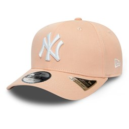New York Yankees Kids League Essential Pink Stretch Snap 9FIFTY Cap