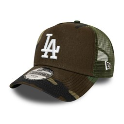 Los Angeles Dodgers Camo Essential Kids A-Frame Trucker