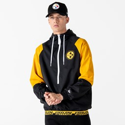 Pittsburgh Steelers Colour Block Panel Windbreaker