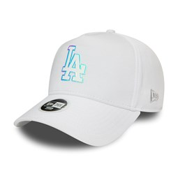 Los Angeles Dodgers Womens Iridescent Logo White Trucker