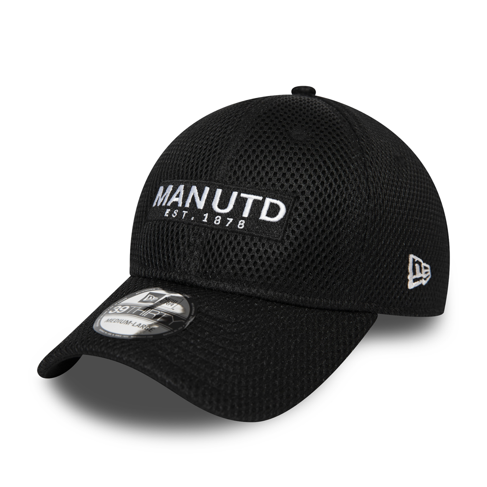 Manchester United Mesh Black 39THIRTY Cap