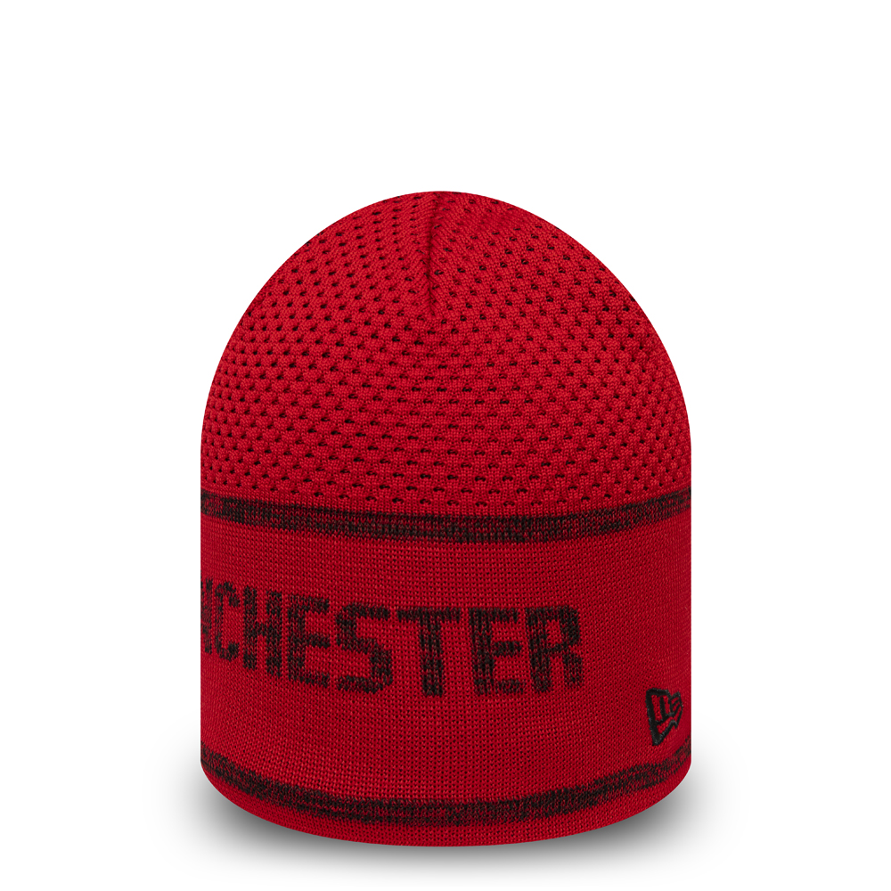 Manchester United Red Skull Knit
