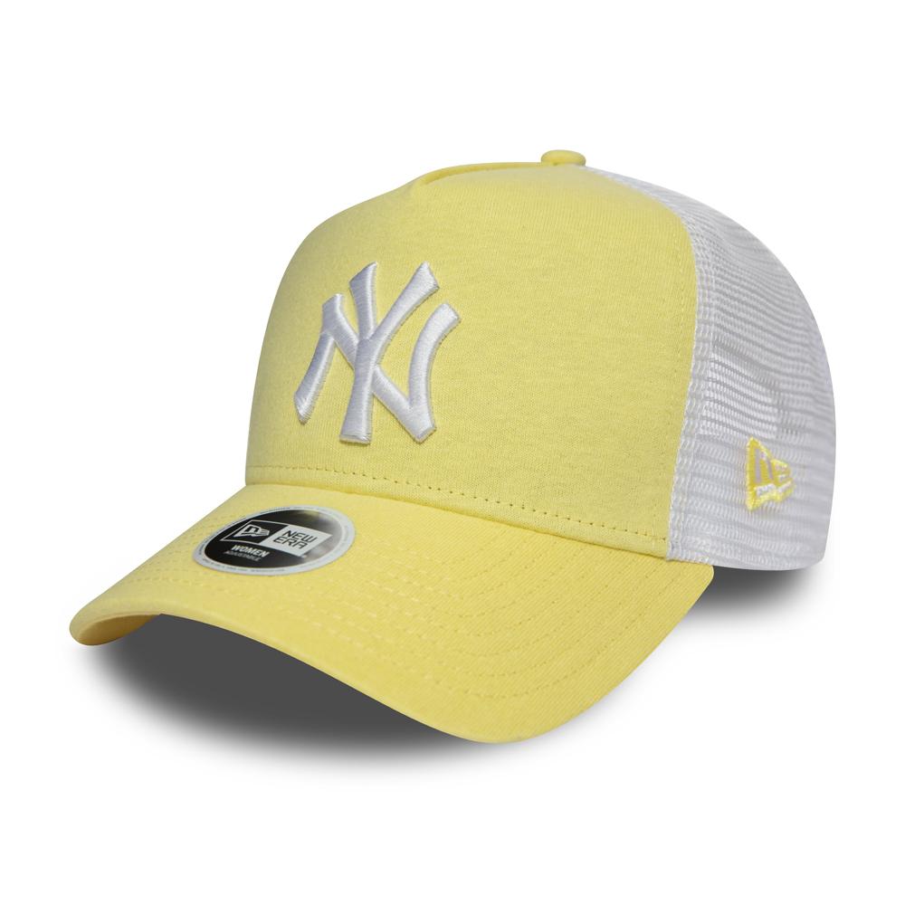 New Era Adjustable Trucker Cap MLB New York Yankees pink