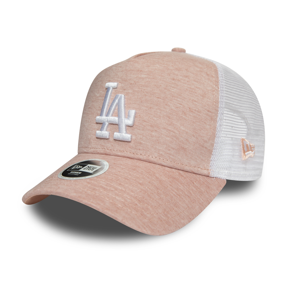 Los Angeles Dodgers Womens Jersey Essential Pink A-Frame Trucker