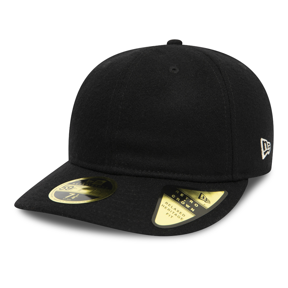 New Era Icons Green Undervisor Black Retro Crown 59FIFTY Cap