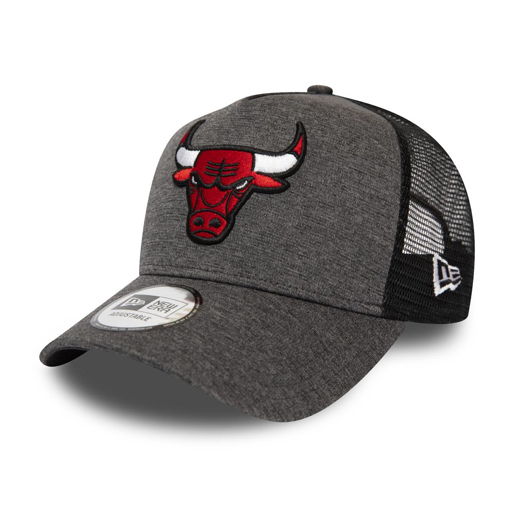 Chicago Bulls New Era 9Forty A-Frame Trucker Cap