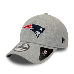 New England Patriots Heather Grey 39THIRTY Cap