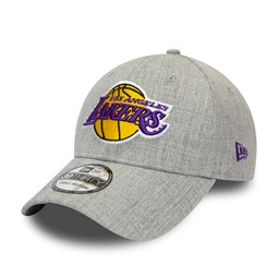 Los Angeles Lakers Heather Grey 39THIRTY Cap