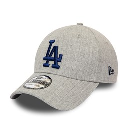 Los Angeles Dodgers Heather Grey 39THIRTY Cap