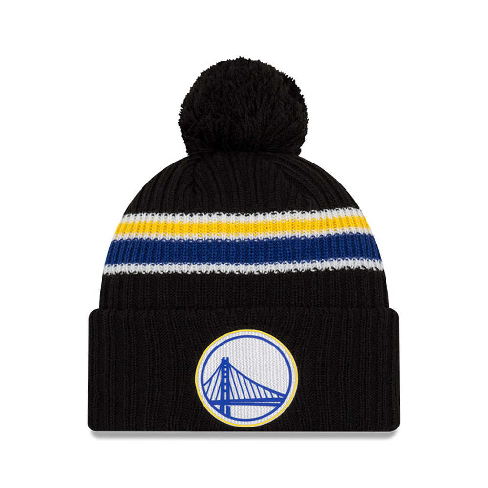 Golden State Warriors Back Half Black Knit