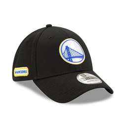 Golden State Warriors Back Half Black 39THIRTY Cap
