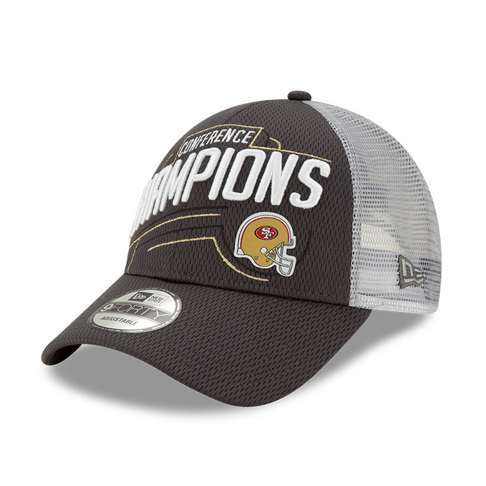 San Francisco 49ERS 2020 Conference Champions 9FORTY Snapback Cap