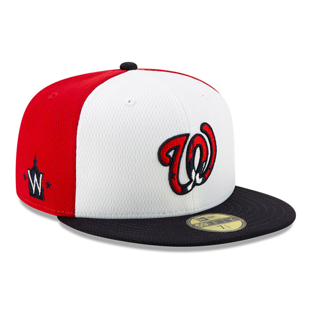 Washington Nationals Red Batting Practice 59FIFTY Cap
