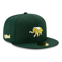 Oakland Athletics Blue Batting Practice 59FIFTY Cap