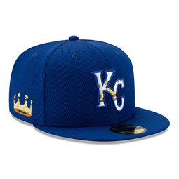 Kansas City Royals Blue Batting Practice 59FIFTY Cap