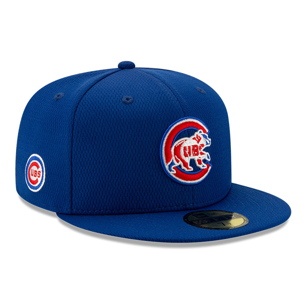 Chicago Cubs Blue Batting Practice 59FIFTY Cap