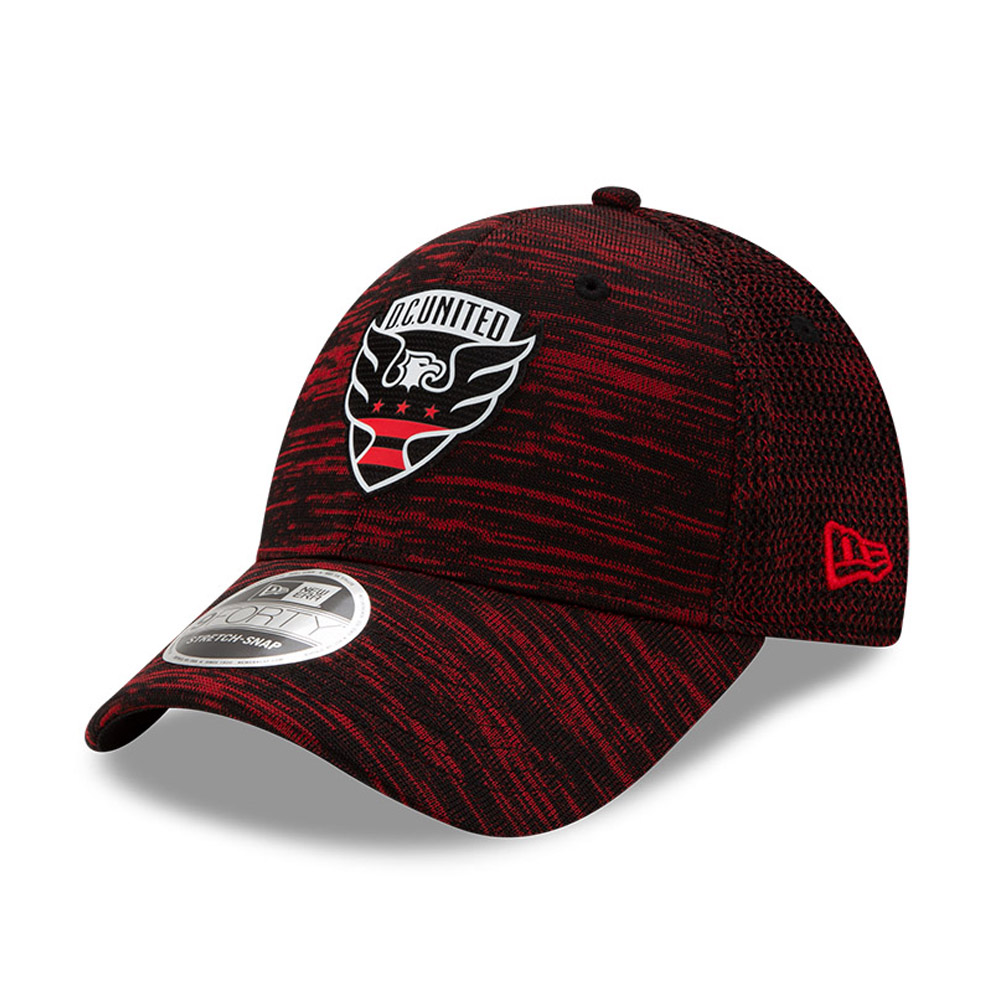 D.C. United Red Striped Stretch Snap 9FORTY Cap