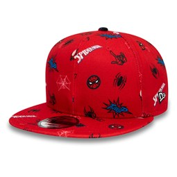 Spiderman and Miles Power Couple Logo Red 9FIFTY Cap