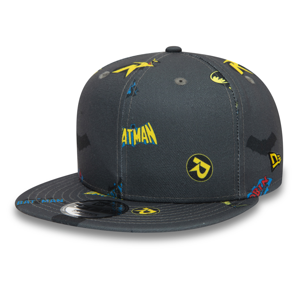 Batman and Robin Power Couple Grey 9FIFTY Cap