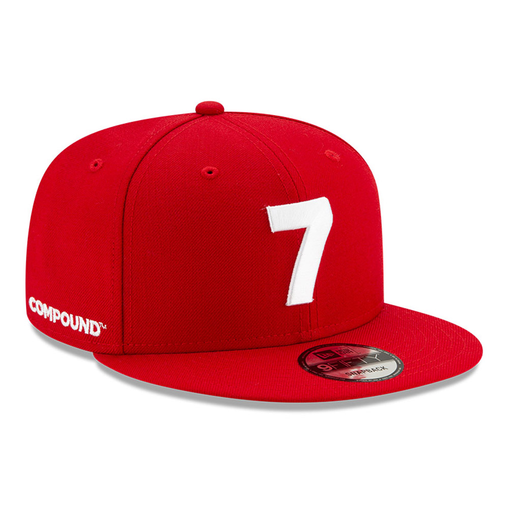 New Era Compound Red 9FIFTY Cap