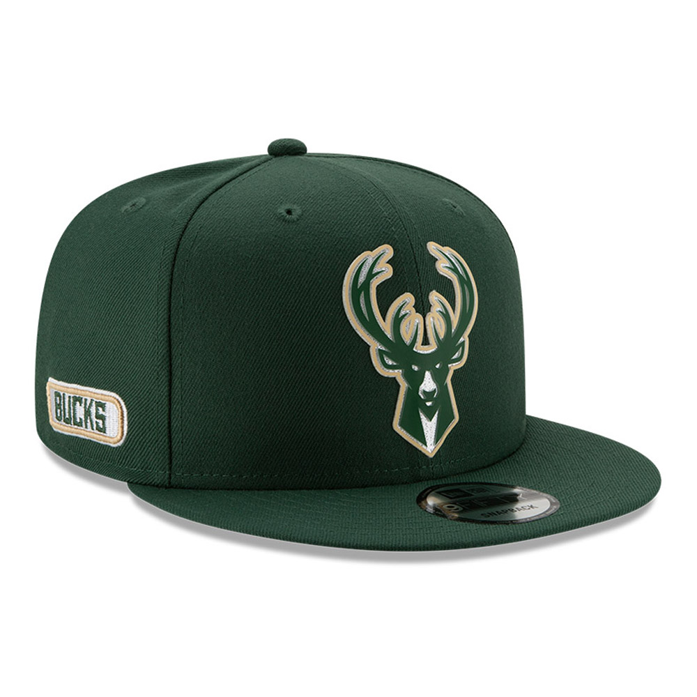 Milwaukee Bucks Back Half Green 9FIFTY Cap