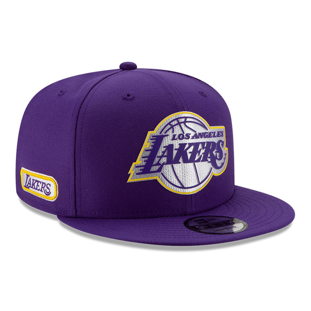 Los Angeles Lakers Back Half Purple 9FIFTY Cap