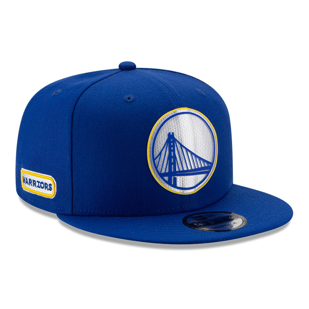 Golden State Warriors Back Half Blue 9FIFTY Cap