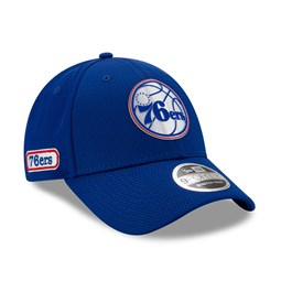 Philadelphia 76ERS Back Half Blue Stretch Snap 9FORTY Cap
