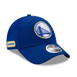 Golden State Warriors Back Half Blue Stretch Snap 9FORTY Cap
