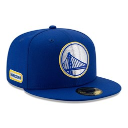 Golden State Warriors Back Half Blue 59FIFTY Cap