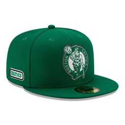 Boston Celtics Back Half Green 59FIFTY Cap