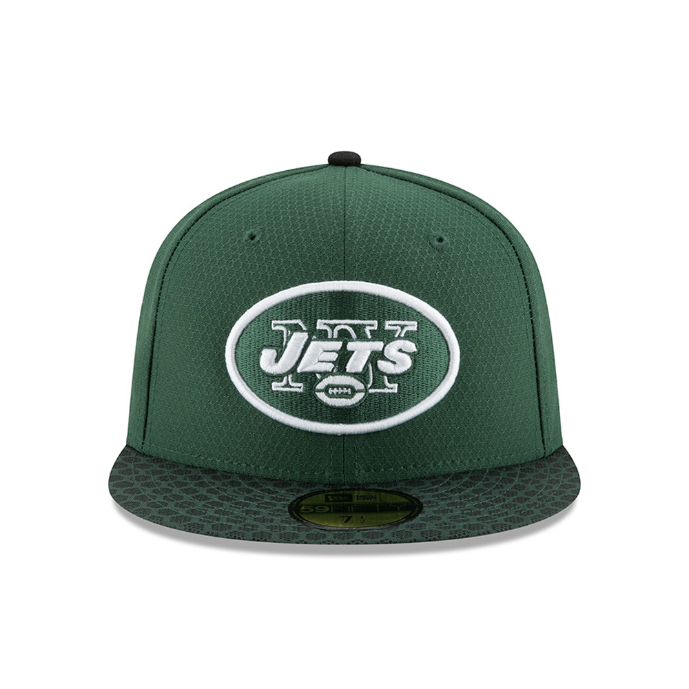 ... New York Jets 2017 Sideline Green 59FIFTY 086959b017e