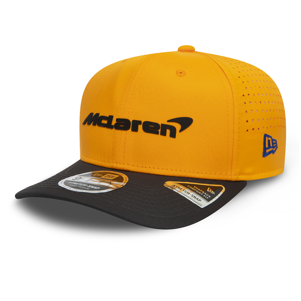 Mclaren Lando Norris Orange  Stretch Snap 9FIFTY Cap