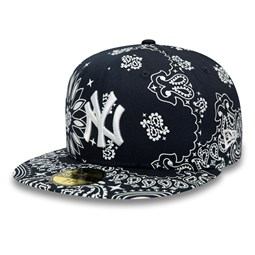 New York Yankees Paisley Navy 59FIFTY Cap