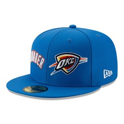 Oklahoma City Thunder 100 Year Blue 59FIFTY Cap