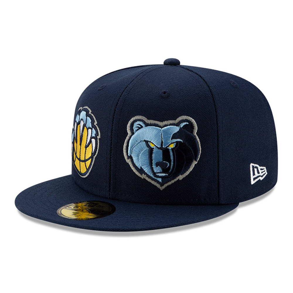 Memphis Grizzlies 100 Year Blue 59FIFTY Cap