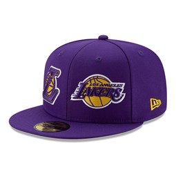 Los Angeles Lakers 100 Year Purple 59FIFTY Cap