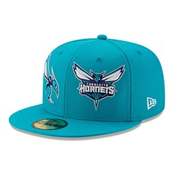 Charlotte Hornets 100 Year Blue 59FIFTY Cap