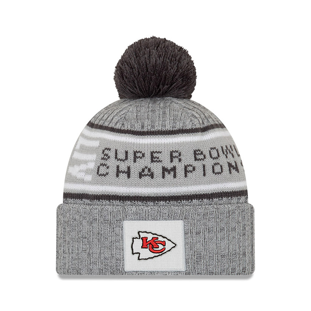 Kansas City Chiefs Super Bowl Parade 2020 Grey Knit