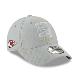 Kansas City Chiefs Super Bowl Parade 2020 Grey 9FORTY Cap