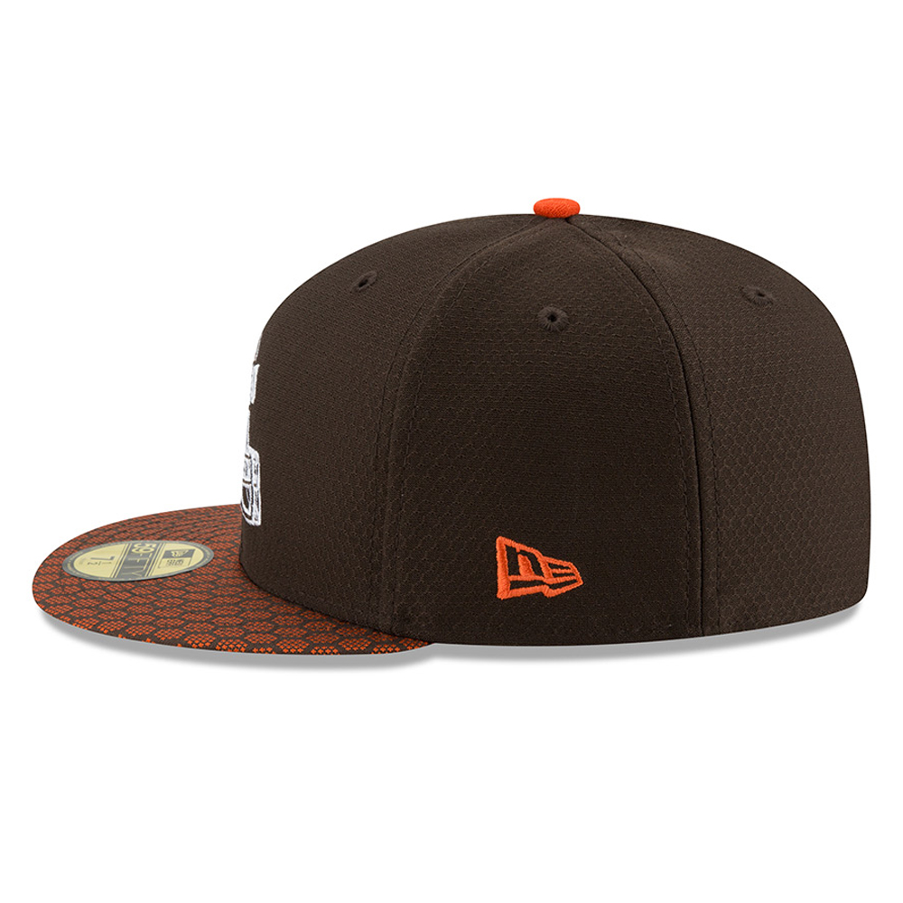 Cleveland Browns 2017 Sideline Brown 59FIFTY