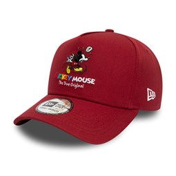 Mickey Mouse True Original Red 9FORTY K Frame Cap