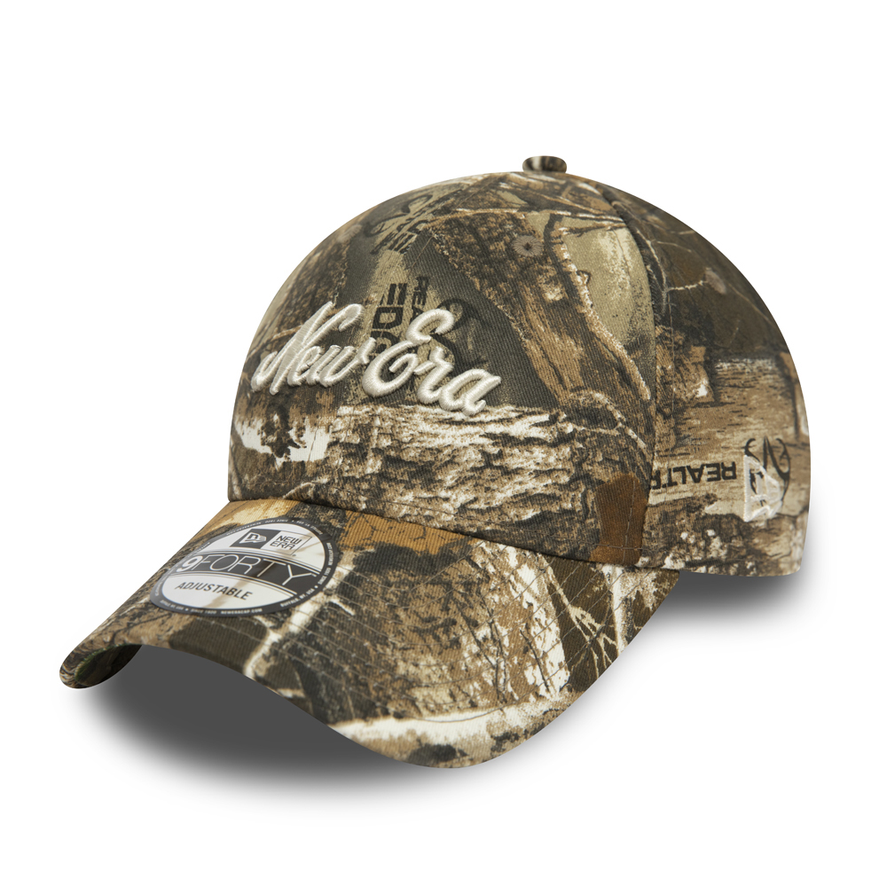 New Era Woodland Camo 9FORTY Cap